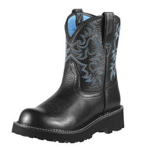 Ariat Fatbaby Western Boot - Black 9B